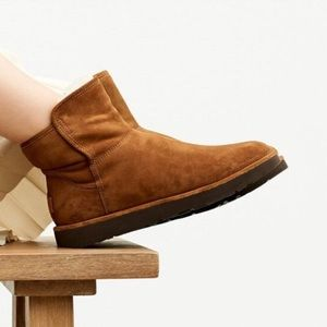NEW UGG Suede Water Resistant Abree Boot in Bruno